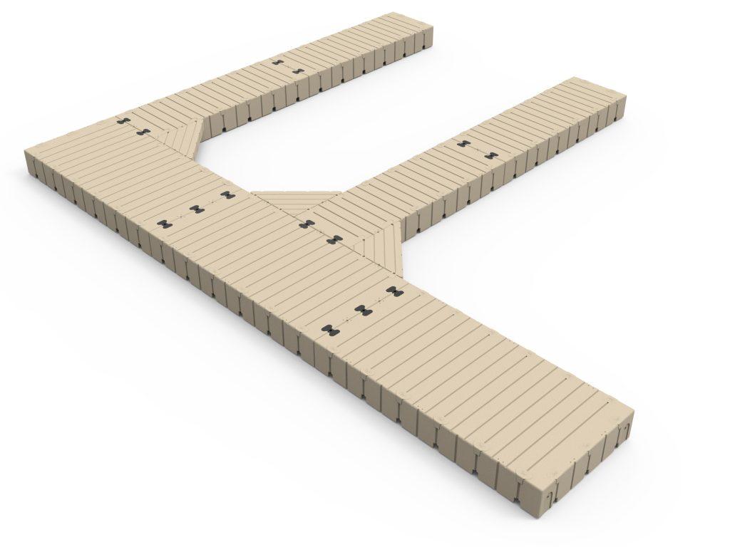 F Shape Dock 30 Long X 25 Wide C ISO 1024x768 1