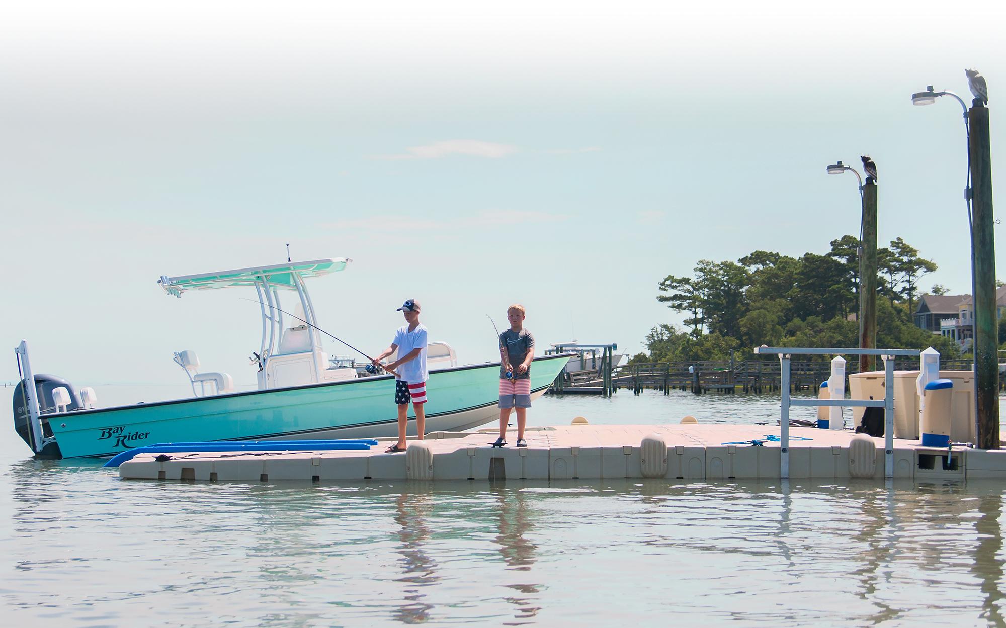 boat port footer