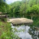 Pond dock 10