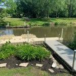 Pond dock 17