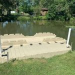 Pond dock 18
