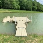 Pond dock 3