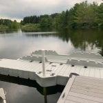 Pond dock 4
